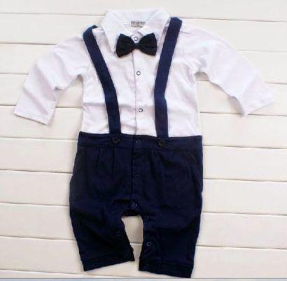 a7beb9a379653a roupa de batizado masculino macacão azul marinho | bebe menino ...