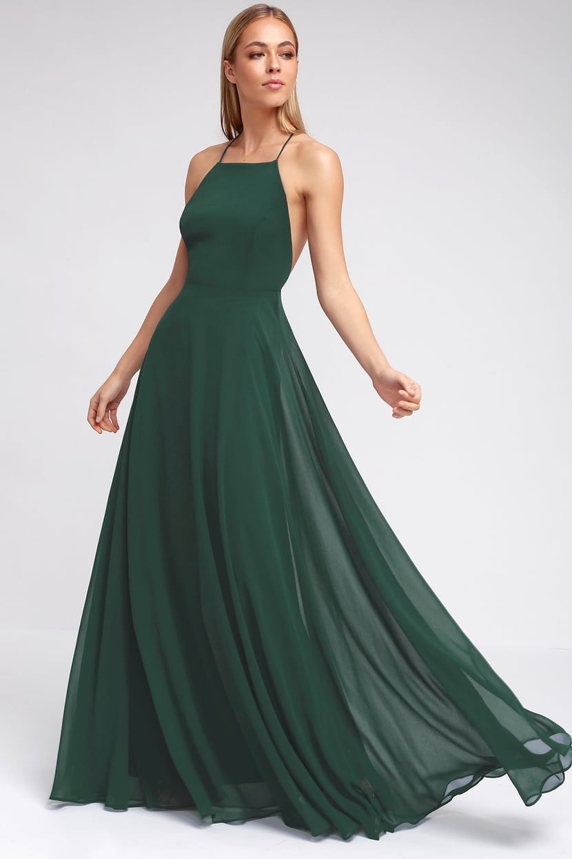 Mythical Kind Of Love Dark Green Maxi Dress Maxi Dress Green Wedding Guest Dress Green Bridesmaid Dresses [ 1245 x 830 Pixel ]