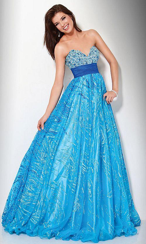 Blue sparkly dress - BLUE!!! - Pinterest - The o&-39-jays- The shade ...