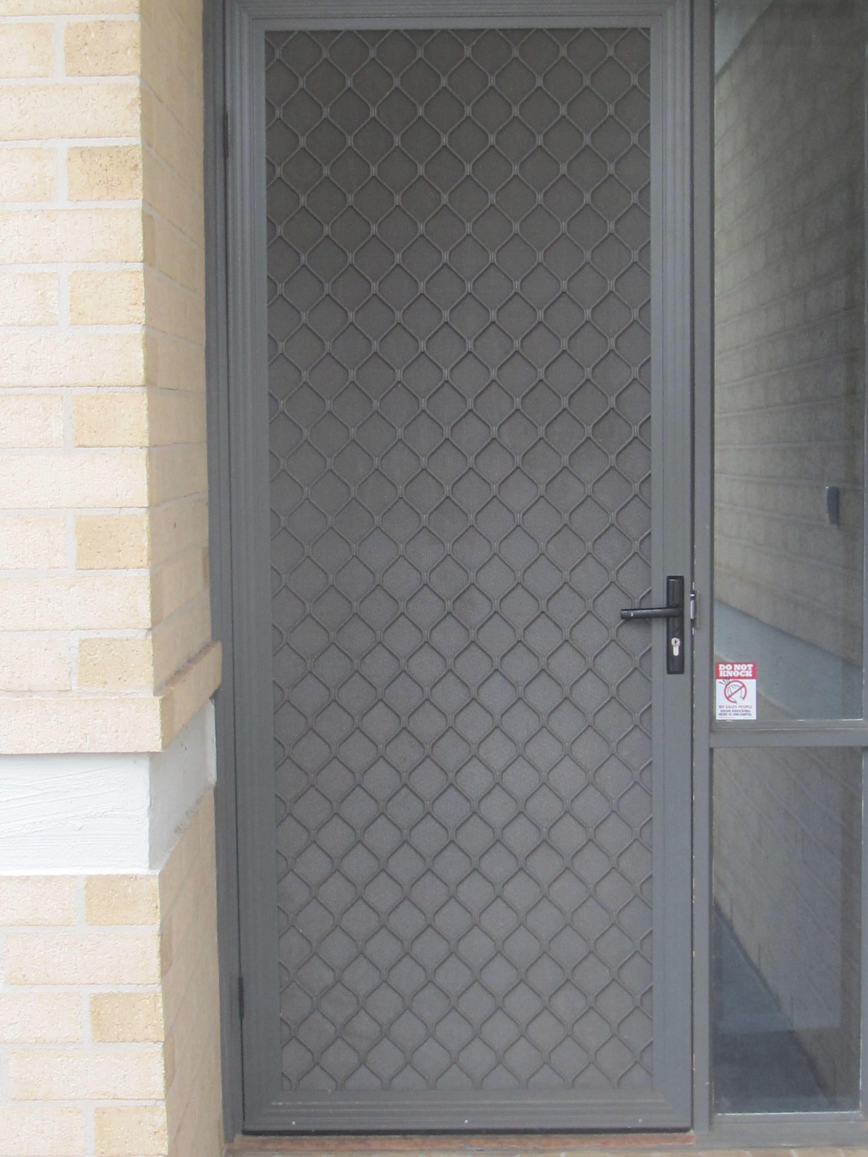 Roller Security Screen Doors Httpthefallguyediting