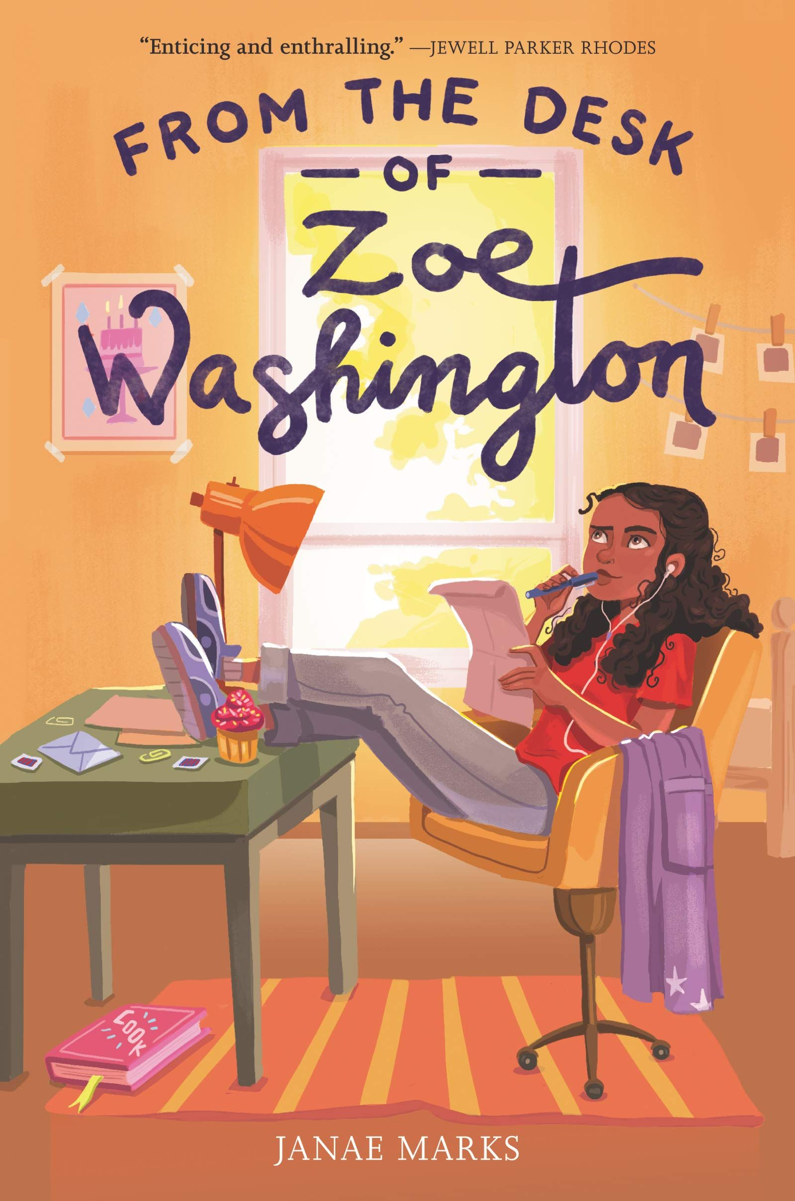 From The Desk Of Zoe Washington In 2020 Good Books Middle Grade Books National Book Store