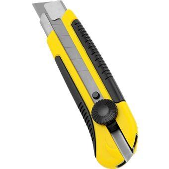 Stanley 25mm dynagrip snap off blade knife 10425 | Stationery