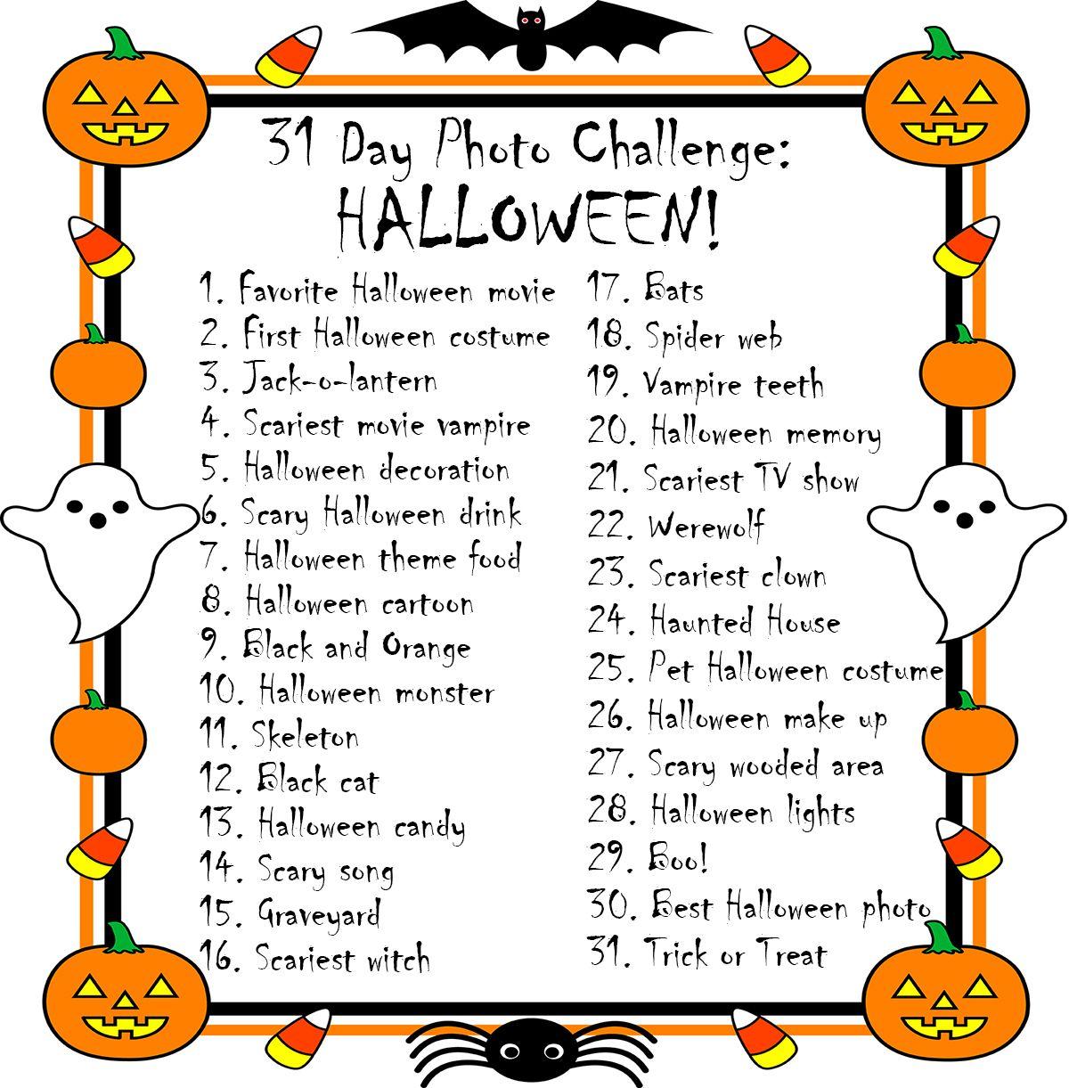 31 Day Photo Challenge Halloween