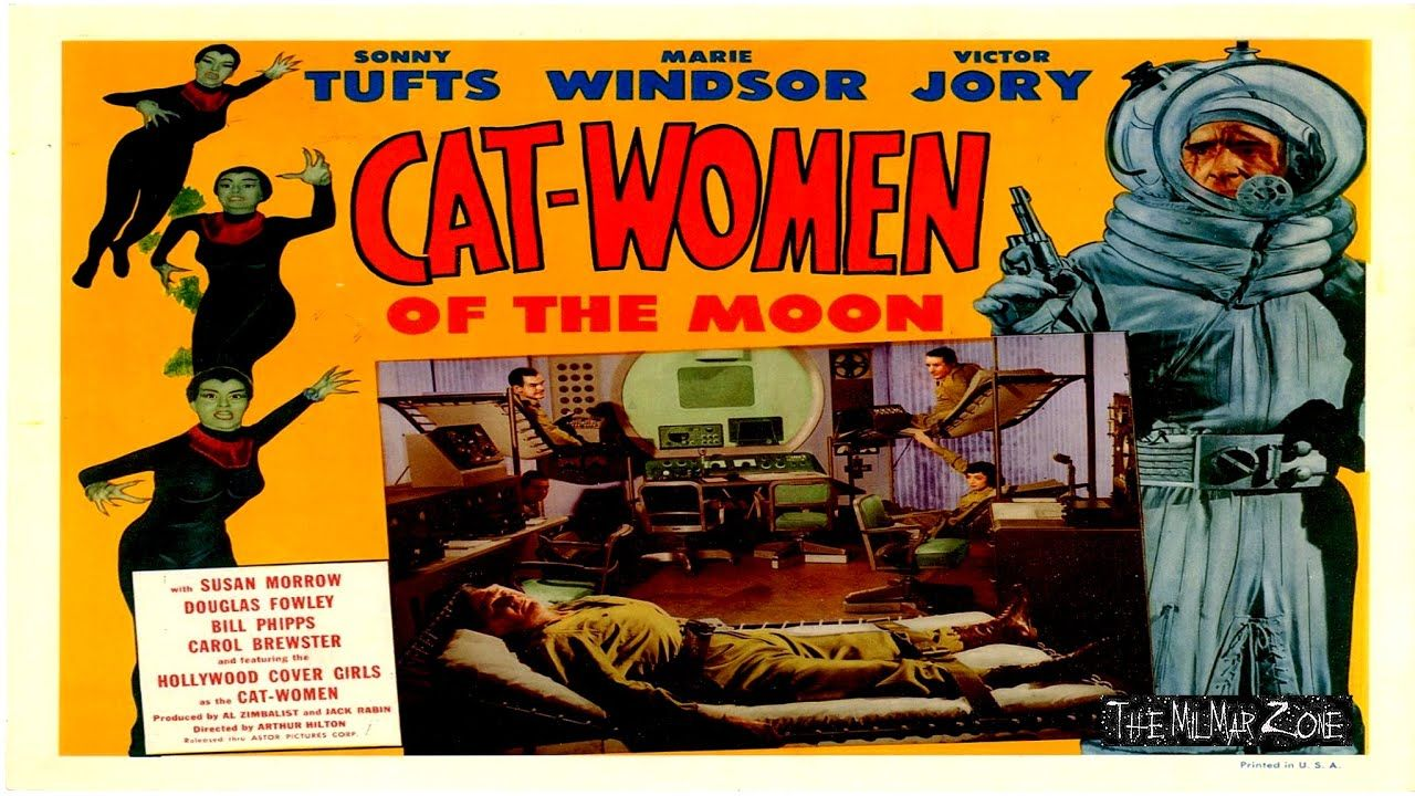 Cat women of the moon 1953 a scifi horror movie