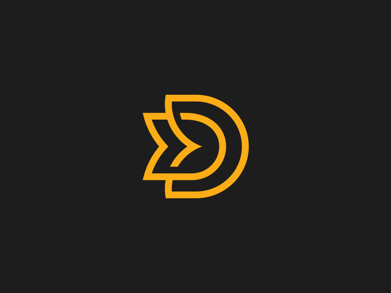 new concept 17ced c15a9 DD Monogram by Aditya   Logo Designer  dribbble  monogram  logo  D  symbol   icon  inspiration  logoinspirations  luxury  idea  clever  design   logotype ...
