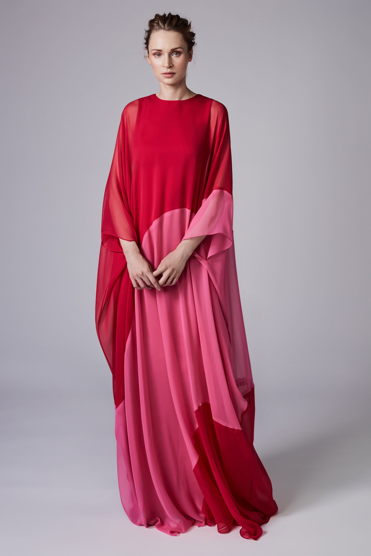 Reem Acra Resort 2018 Fashion Show   Caftanes, Moda mujer y Alta costura