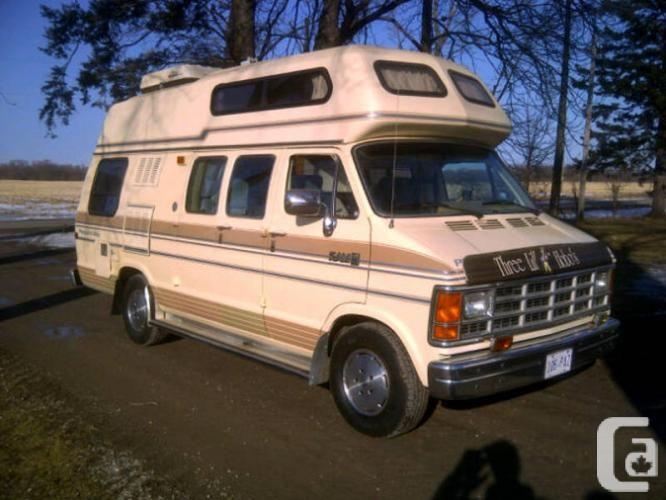 Mini Van Camper for Sale | 1989 Dodge Ram RV Camper Van in ...