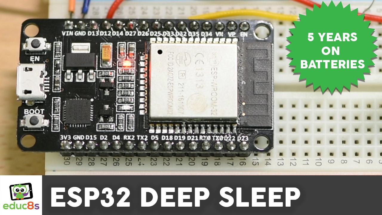 Dear friends welcome to the ESP32 Deep Sleep Tutorial! Today