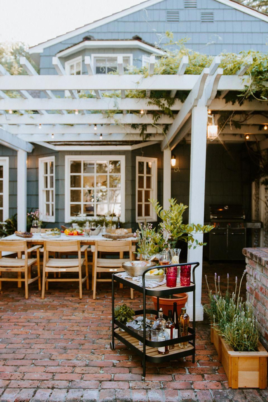 Covered Front Porch Garden Trees Patio Ideas Outdoor Decks