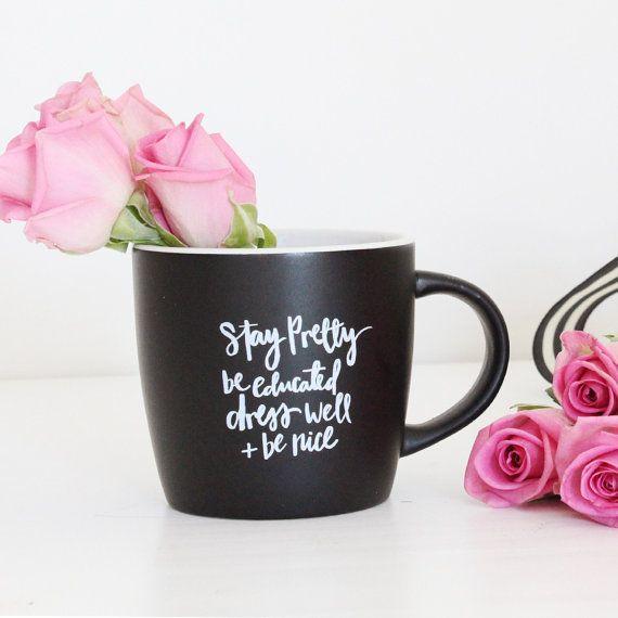 Tagliche Erinnerungen Keramik Kaffeebecher Von Miss Mohn Design Pretty Mugs Poppy Design Mugs