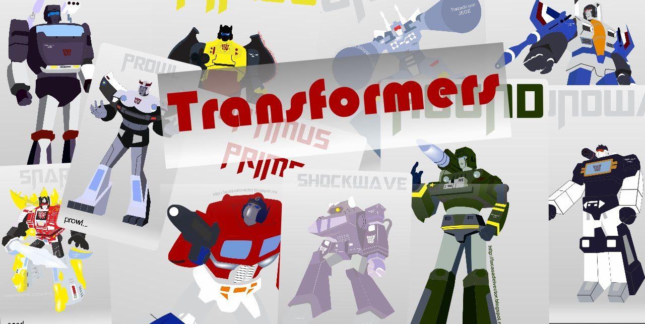 trazado de Vectores de transformers.