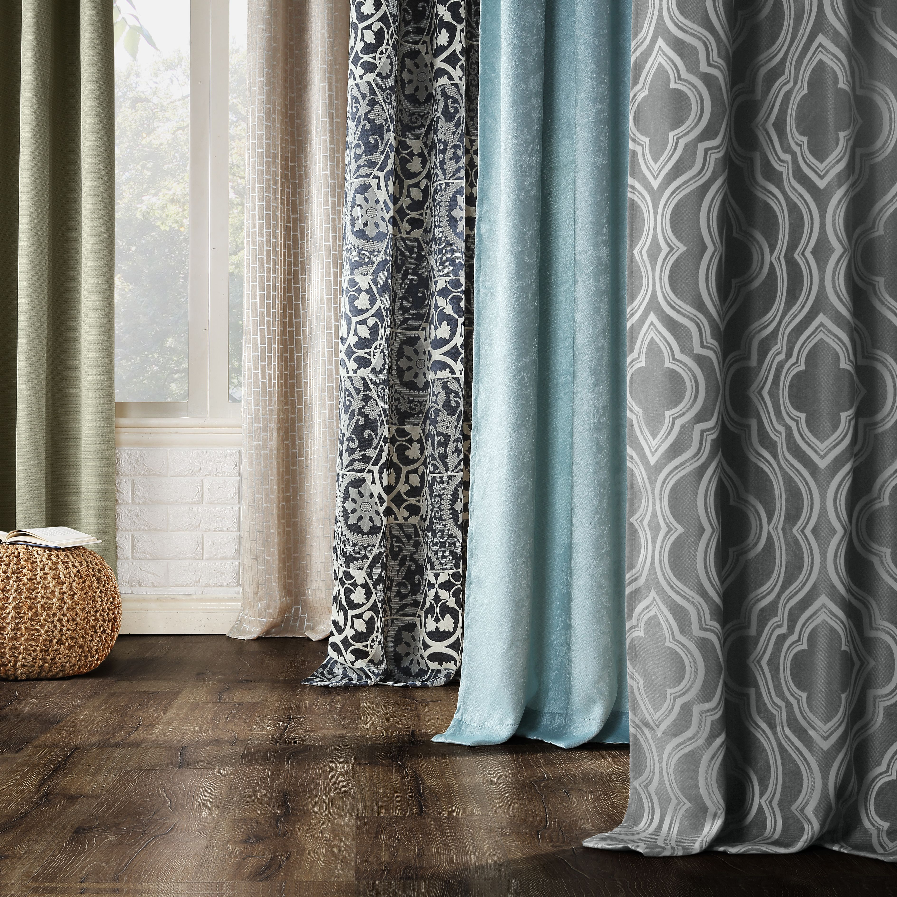 Home Panel Curtains Curtains Grommet Curtains