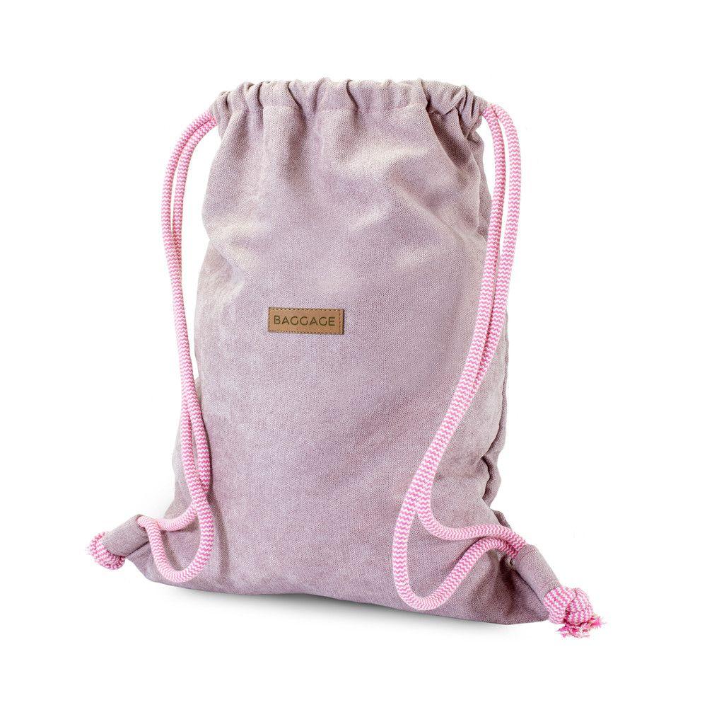 Plecak Worek Brudny Roz Baggage Worko Torba Baggage Plecaki Bags Drawstring Backpack Backpacks