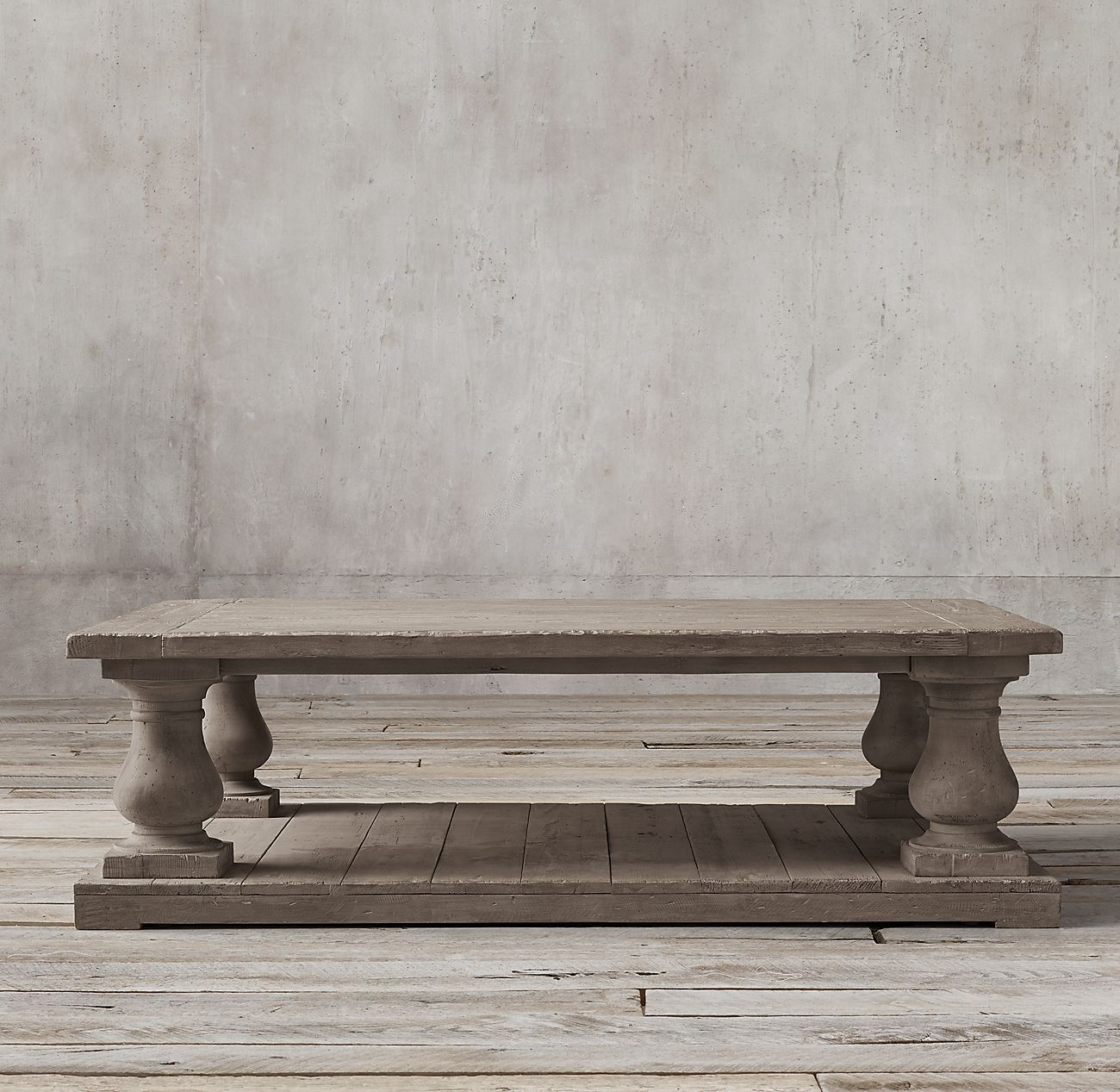Balustrade salvaged wood coffee table in 2020 with images