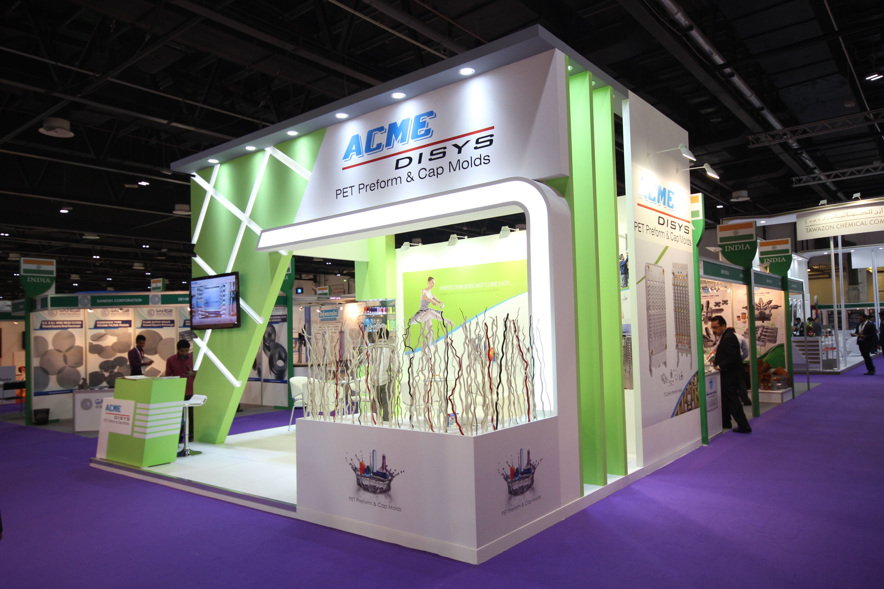 The green guide to exhibiting Exhibitions used to be highly