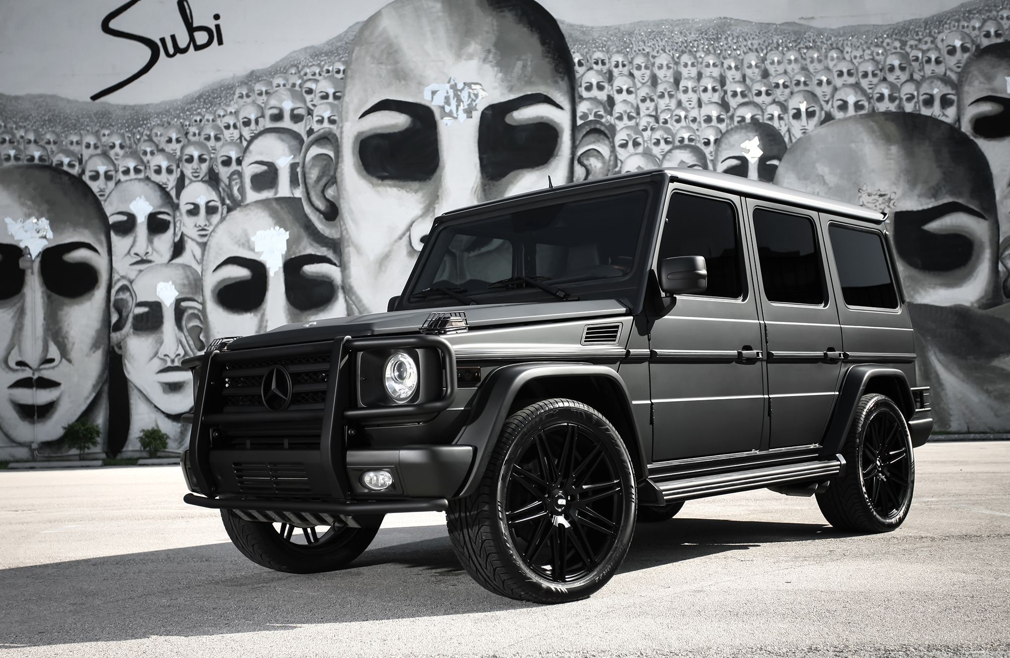 Mercedes matte black g wagon google search the whip for Mercedes benz g wagon black matte