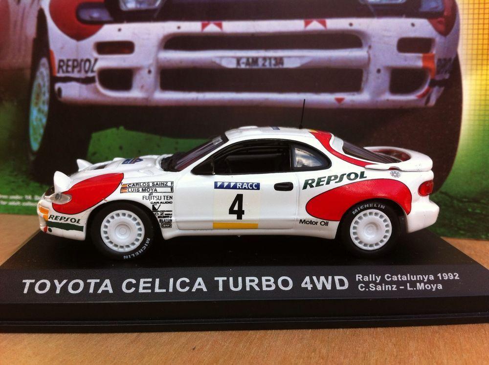 DeAgostini 1/43 Rally Car Collection Issue 31 Toyota Celica Turbo ...
