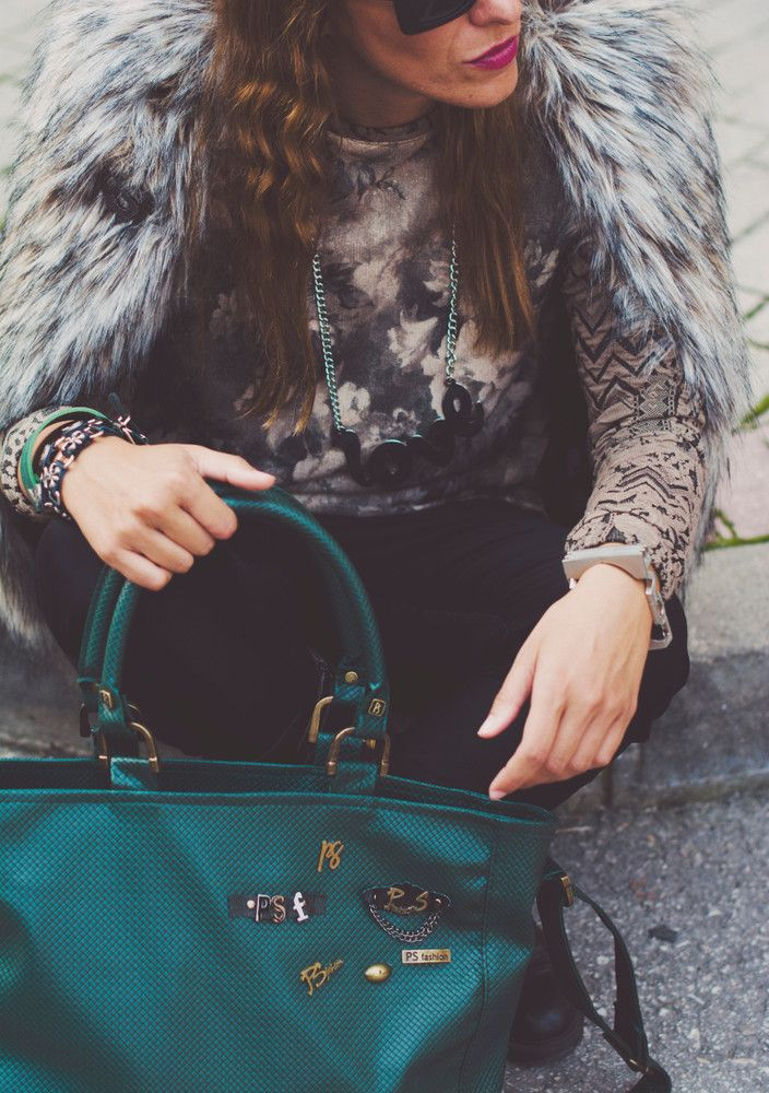P    S    Fashion Street Style Outfit