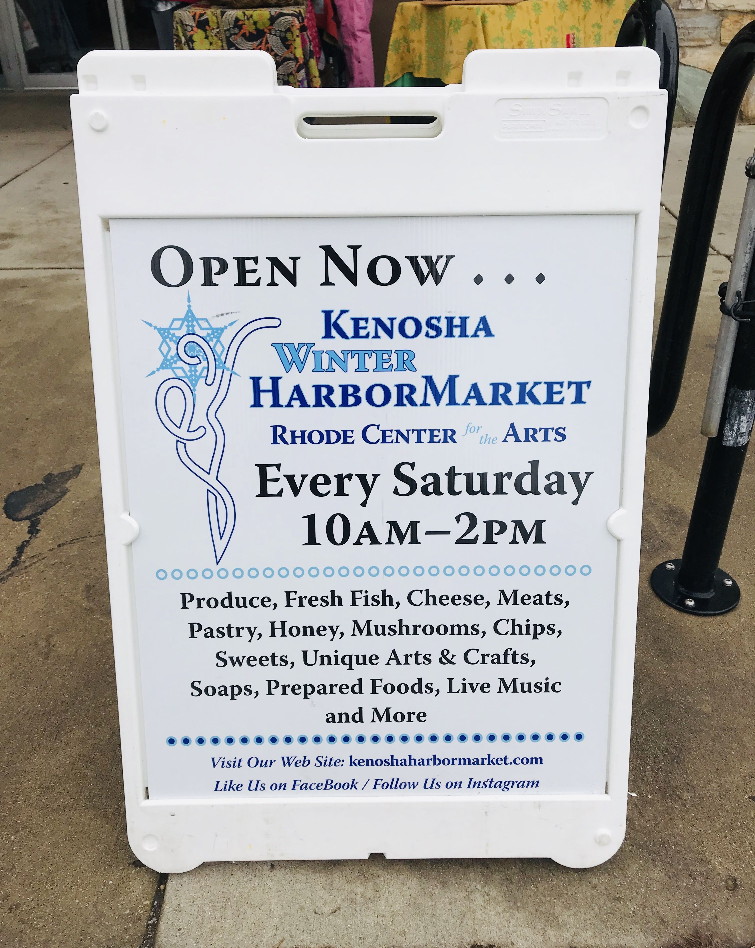 2019 Small Business Saturday Advertising Ideas Saturdays Only: Kenosha Winter HarborMarket, Kenosha, WI