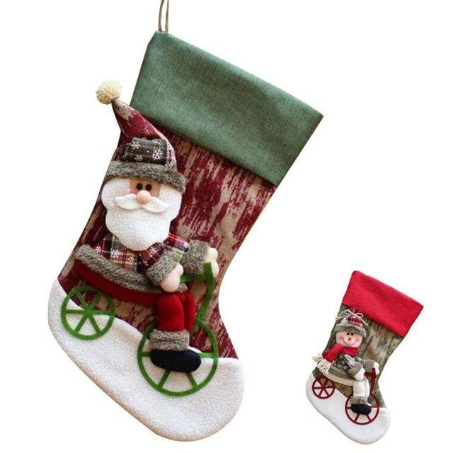 Sale Today $691, Buy Christmas Socks Stocking Decorations Santa - christmas decorations sale