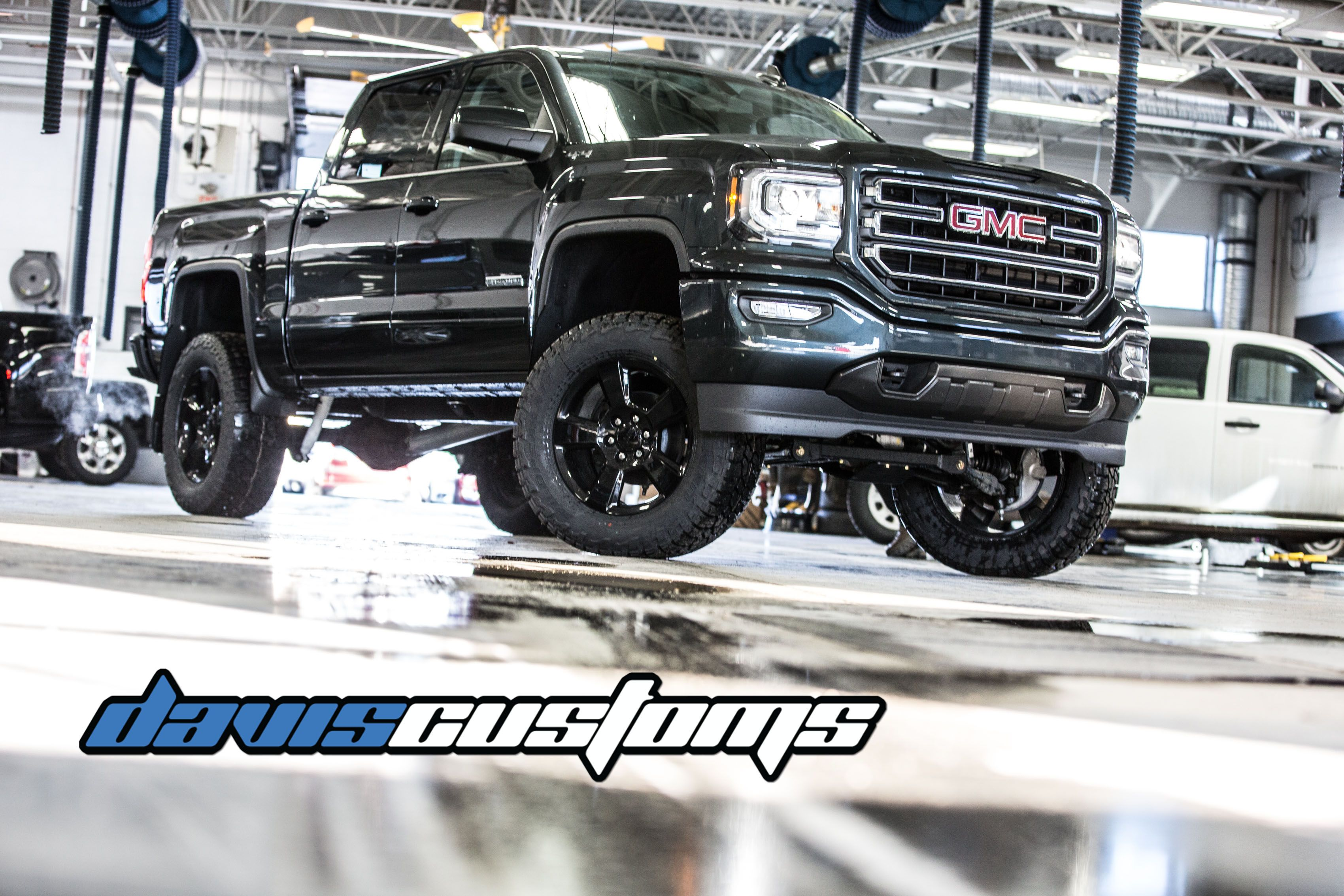 Lifted 2018 Gmc Sierra Davis Customs At Davis Gmc Buick In