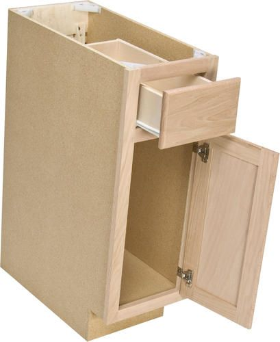 Quality One™ X 34 1 Unfinished Oak Base Cabinet From 9 Base Cabinet For  Kitchen