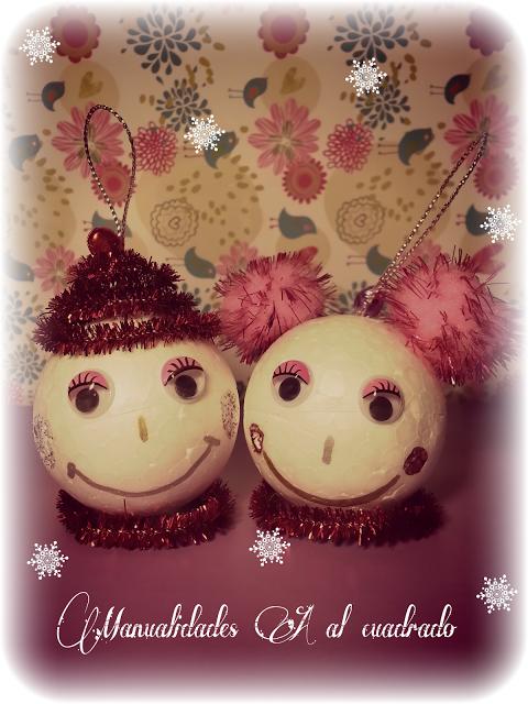 Christmas crafts 2013 adornos navide os para realizar con - Adornos navidenos ninos ...