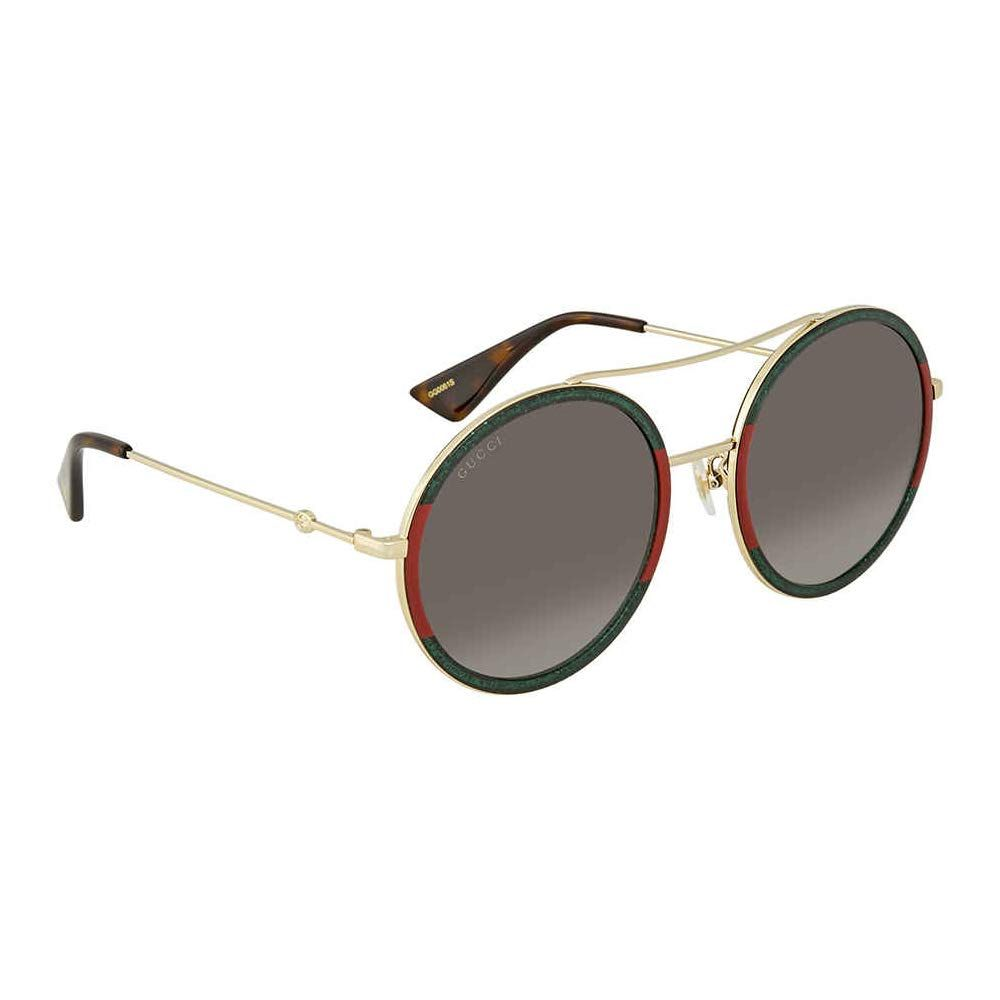 9f6c8a22771 Gucci GG0061S 008 (Glitter Green - Red with Grey Gradient lenses)   affiliate  glitter  gucci  sunglasses