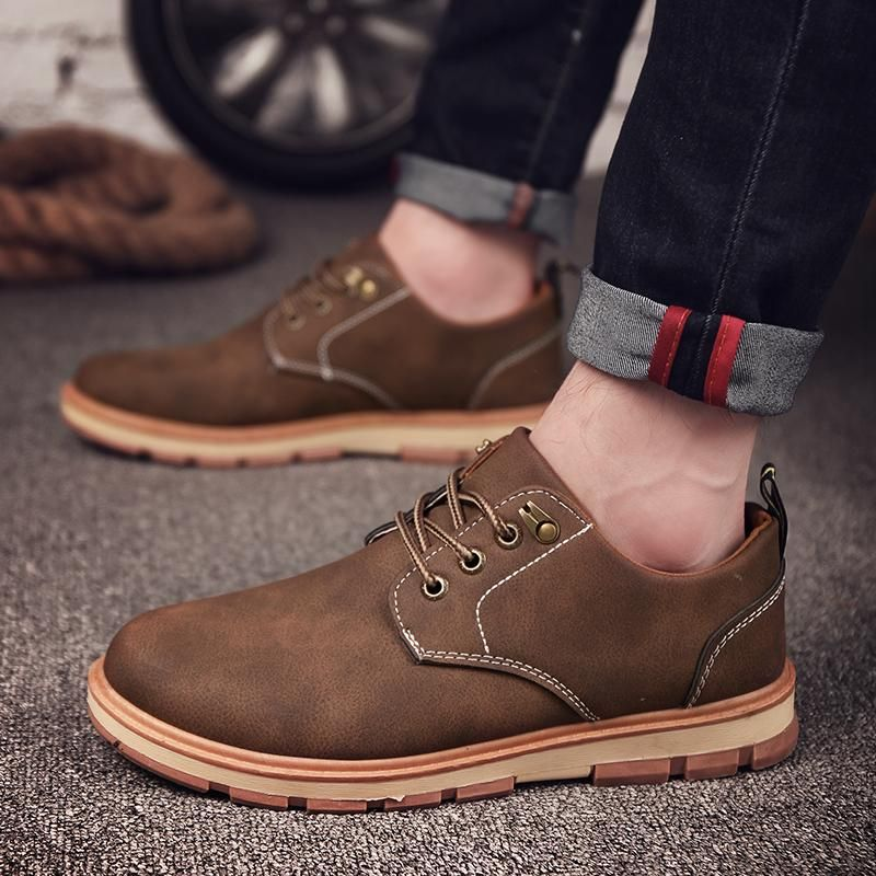 6111British Men/'s Lace Up Dress Shoes Formal Business Wedding Pointed Toe Casual