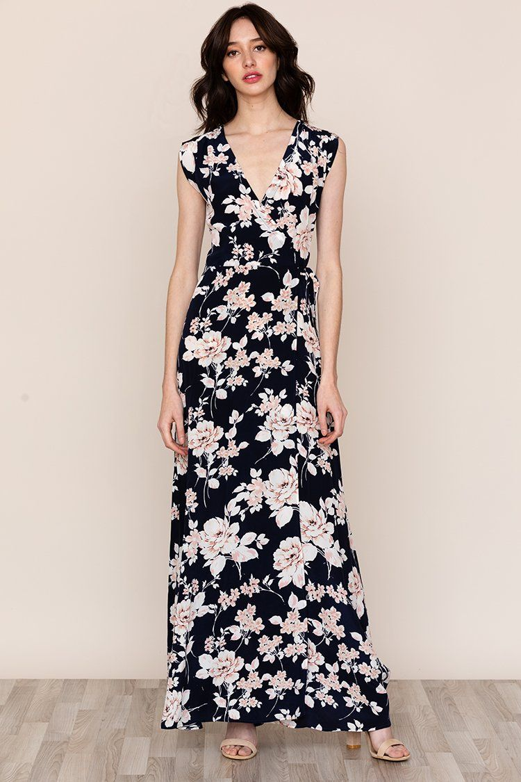 87b28bb36a9e6 Swept Away Silk Maxi Dress | Yumi Kim | Floral Dress | Floral Maxi Dress |  Spring Dress Look | Spring Wedding Guest Dress | Spring Wedding Look |  Floral ...