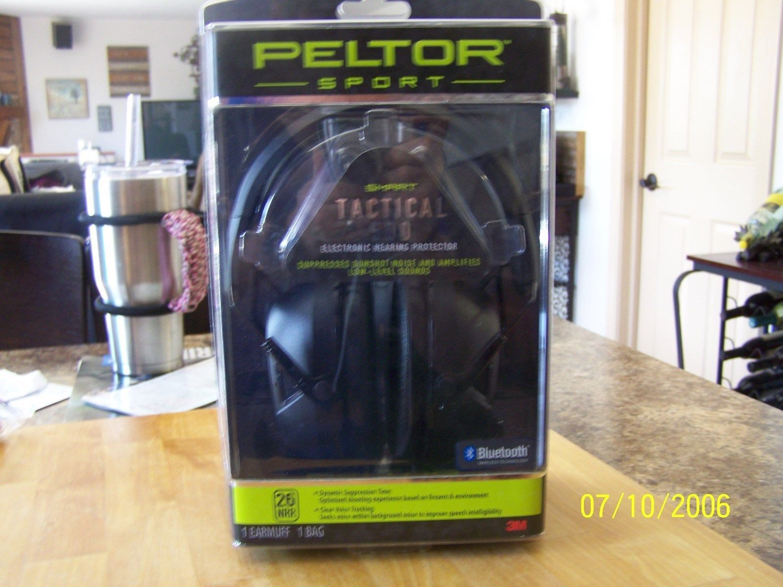 Peltor Sport Tactical 500 Electronic Hearing Protection