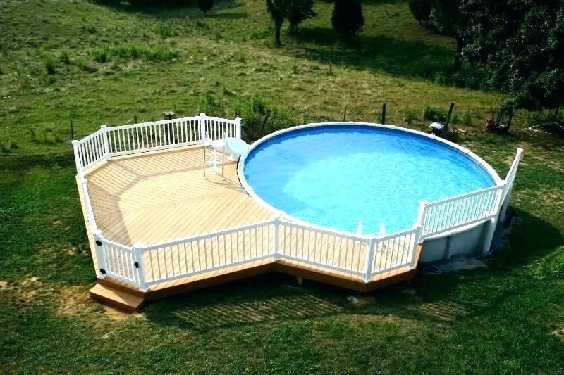 Above Ground Pool Deck Kits Home Depot Google Search Backyard Pool Best Above Ground Pool Pool Deck Plans