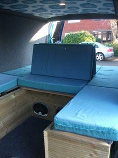 Van Life Lwb Team Blue Camper Build Lots Of Pics