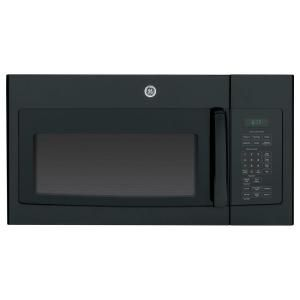 Ge 1 7 Cu Ft Over The Range Microwave In Black With Sensor