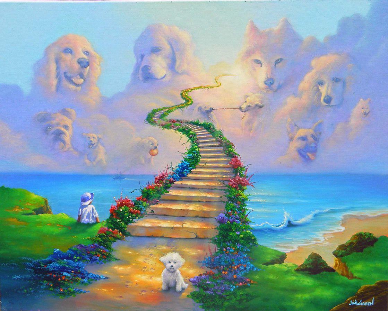 Fine Art Jimwarrren Com Rainbow Bridge Dog Dog Heaven