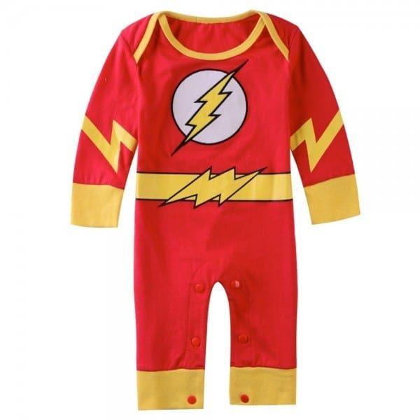 Baby Flash Costume | Baby costumes, Flash costume, Girls ...