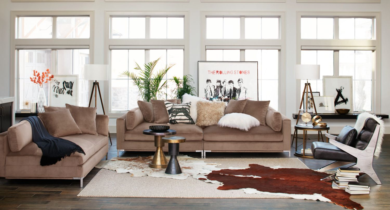 2 sofa living room ideas chest table moda piece mushroom value city furniture must have for theater 1099 99 vcf
