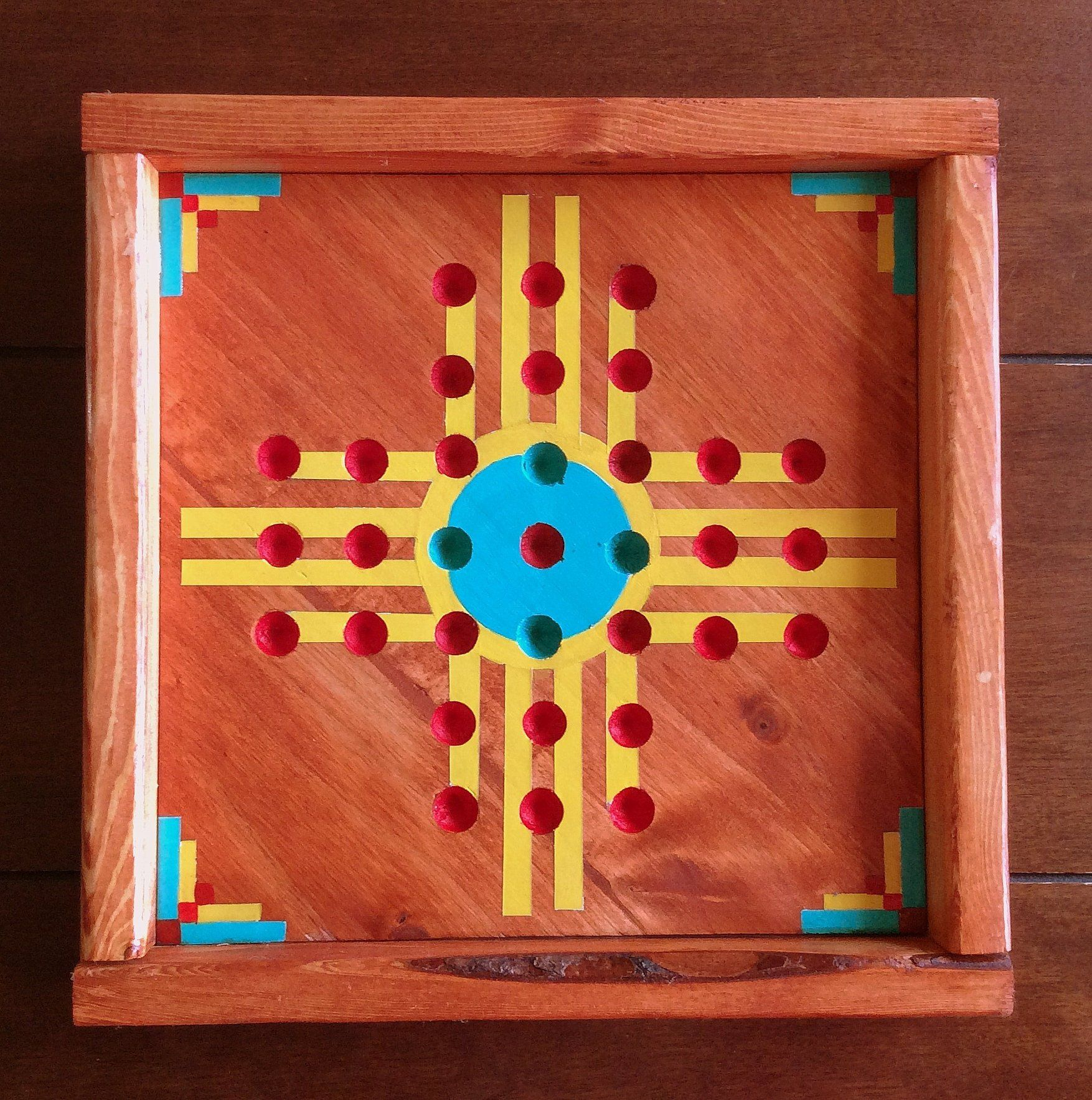 Marble Solitaire, think jump game, marble game, New Mexico