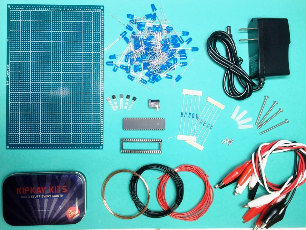 Kipkay kits monthly DIY projects Electronic kits