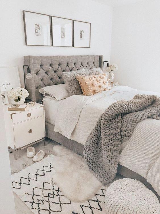 bedroom ideas for teen girls. Soft bedroom decor #bedroominspo - Welcome to Blog