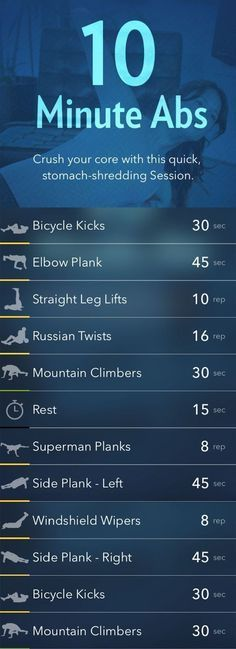 10-Minute Workouts To Get You In Shape In No Time -Tom                                                                                                                                                      More-Tom                                                                                                                                                      More