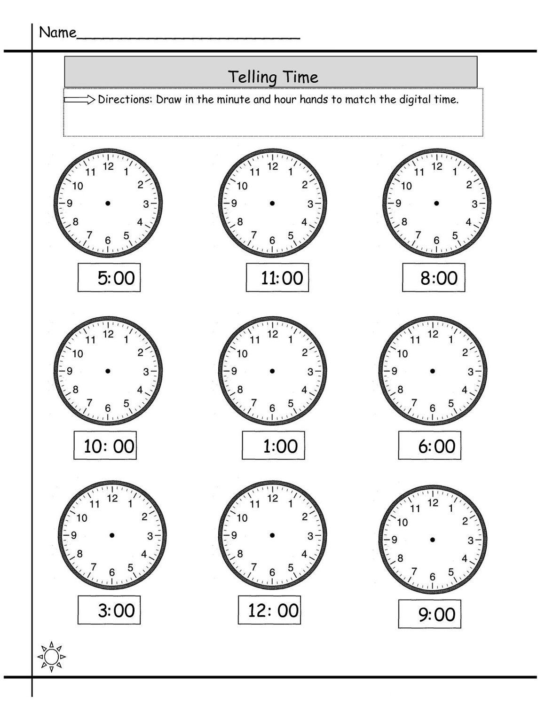 Elapsed Time Worksheets Printable In