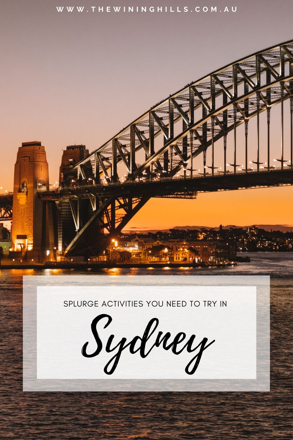 Once in a Lifetime Experiences you MUST do in Sydney! Take a helicopter over the Harbour or enjoy cruising past the Opera House on a private yacht! These total splurge activities you must try once in Sydney! #australia #sydneytravel