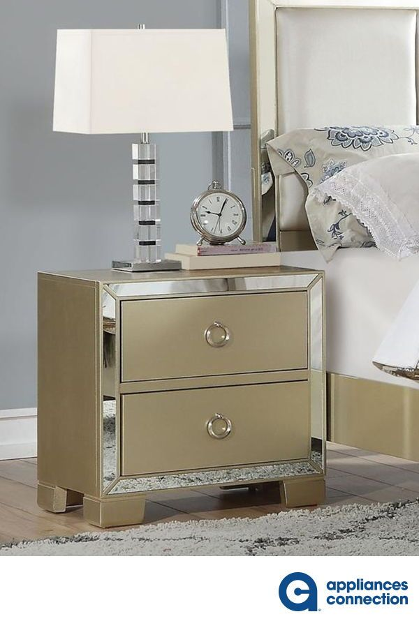 The Voeville II Collection Nightstand will create a warm