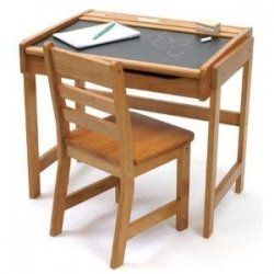 A Study Desk For Kids Can Help Your Child Get Ahead In School Children Need A Place To Be Creative They Als Chalkboard Desk Desk And Chair Set Childrens Desk