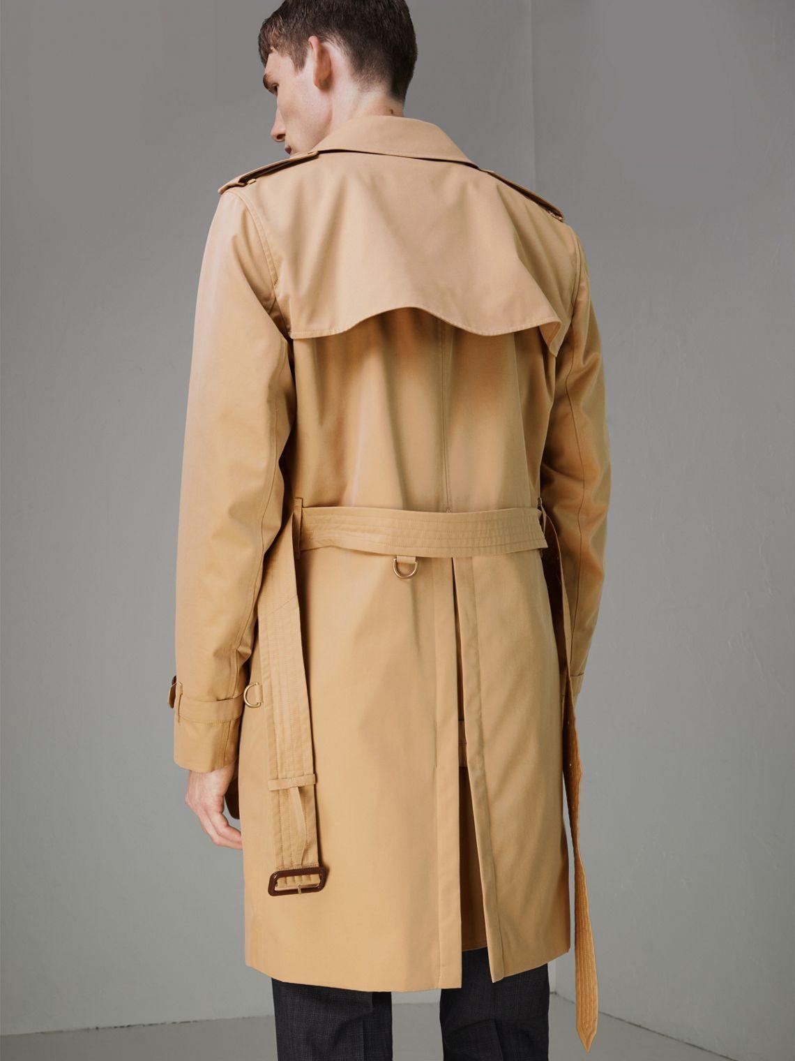 18ae4603348b The Kensington Heritage Trench Coat in Honey - Men