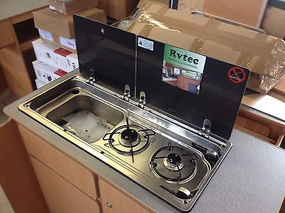 camping kitchen sink unit smev dometic 9722 compact campervan sink hob unit 9222 vw 5095