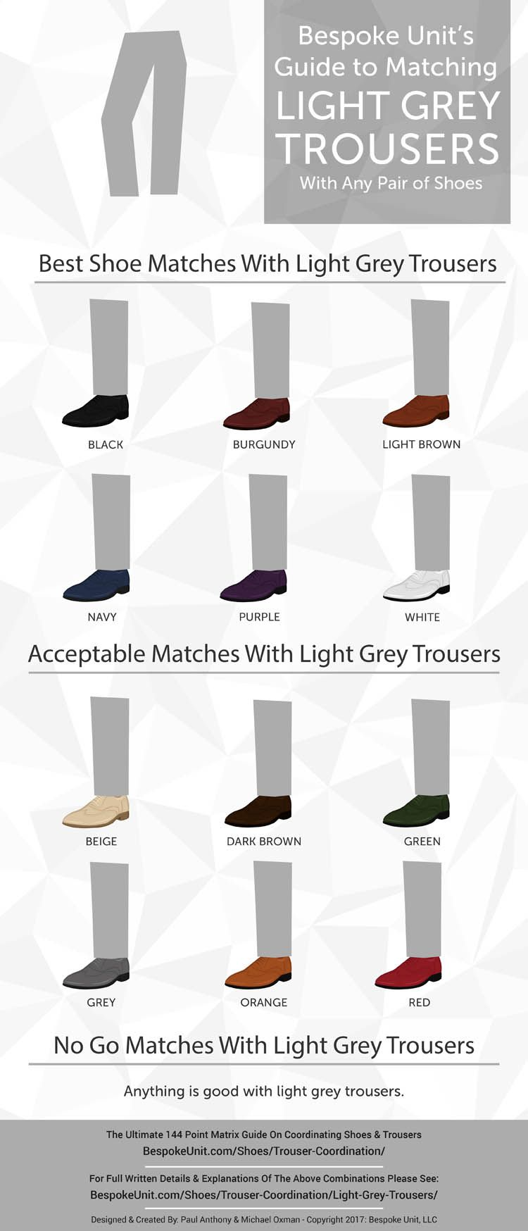 4d27bf16e86c5 What To Shoes Wear With Light Grey Trousers  Shoe Color Coordination ...