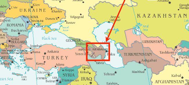 Azerbaijan Map Cartes Anciennes Cartes Carte