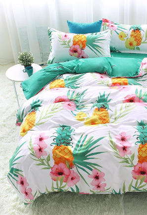 100+ Pineapple Bedding Sets! We Have Tons Of Pineapple Bedding, Comforters,  Duvet
